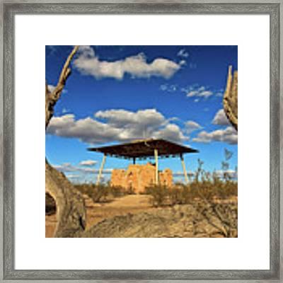 Casa Grande Ruins National Monument Framed Print by Sam Antonio Photography