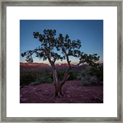 Cathedral Rock Framed Print by Gary Lengyel