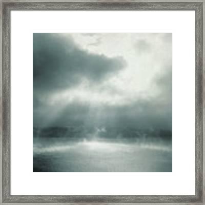 Cauldron Framed Print by Sally Banfill