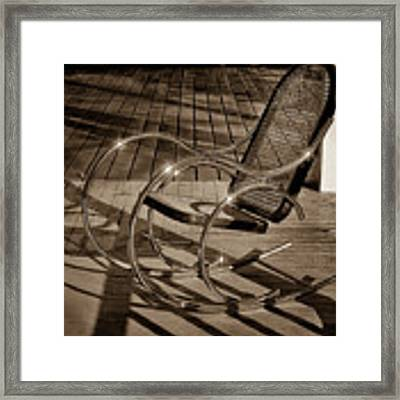 Chair Framed Print by Samuel M Purvis III