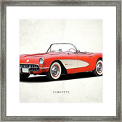 Chevrolet Corvette Framed Print