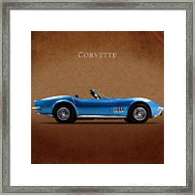 Chevrolet Corvette Stingray Framed Print