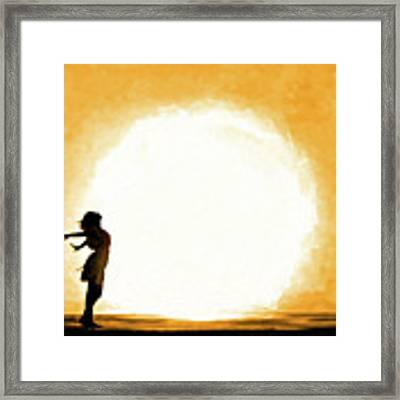 Child Of The Universe Framed Print by Mark Tisdale