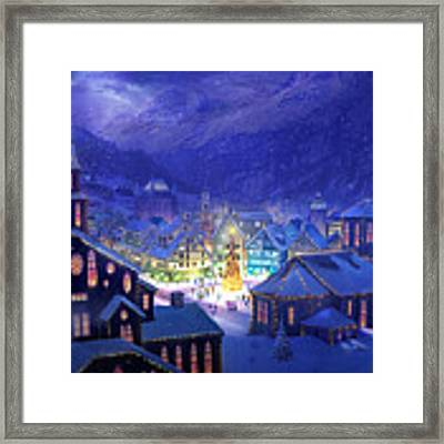 Christmas Town Framed Print