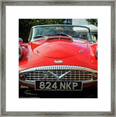 Classic Daimler Sports Car Framed Print by Nick Bywater