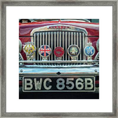 Classic Humber Framed Print by Nick Bywater