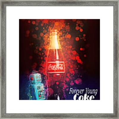 Coca-cola Forever Young 15 Framed Print by James Sage