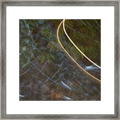 Colliding Worlds  Framed Print by Michael Lucarelli
