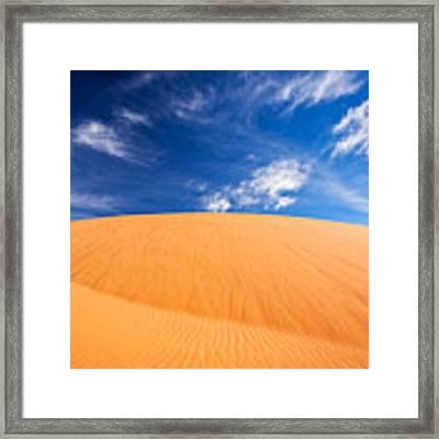 Coral Pink Sand Dunes State Park, Kanab, Utah Framed Print by Bryan Mullennix