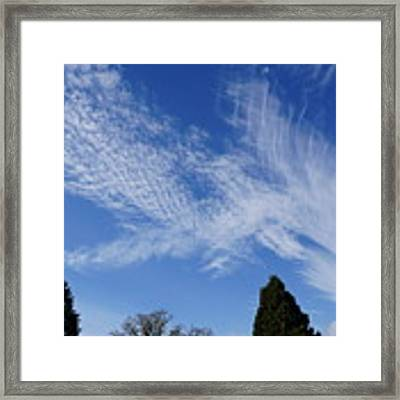 Corvallis Cloudscape Framed Print by Ben Upham III