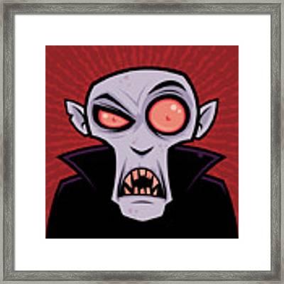 Count Dracula Framed Print