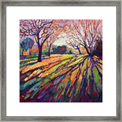 Crystal Light Framed Print by Erin Hanson