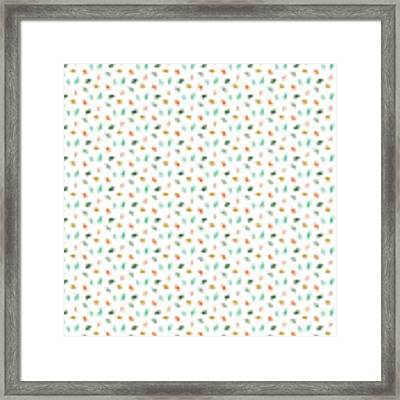 Dainty Leaves Framed Print by Jocelyn Friis