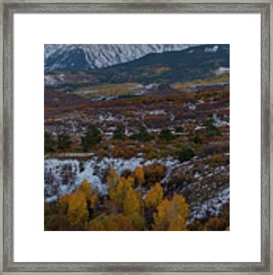 Dallas Peak II Framed Print by Gary Lengyel