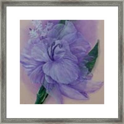 Delicacy Framed Print by Saundra Johnson