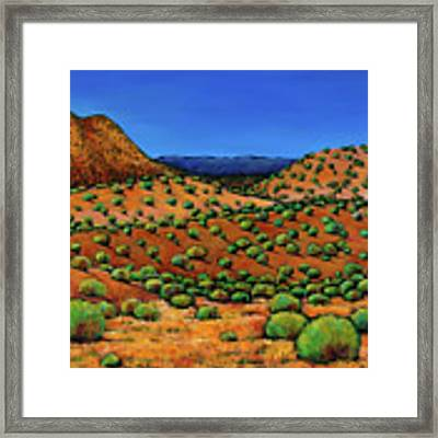 Desert Afternoon Framed Print