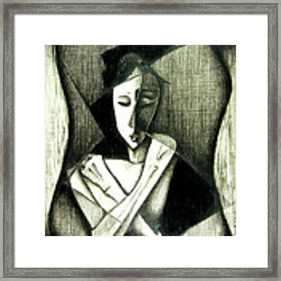 Deviant Framed Print by Delight Worthyn