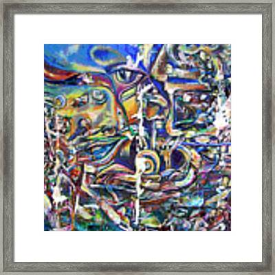 Dissolution Framed Print by Robert Thalmeier