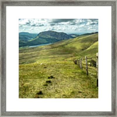 Distant Path Framed Print by Nick Bywater