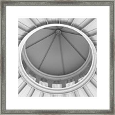 Downtown Columbus Bw1927 Framed Print by Brian Gryphon