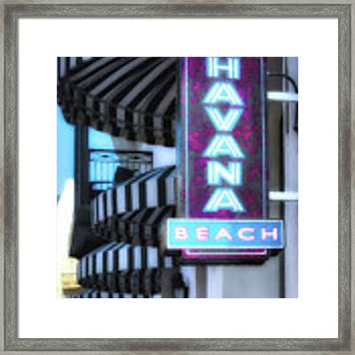 Downtown Rosemary Beach # 5 Framed Print by Mel Steinhauer