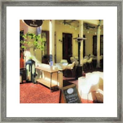 Downtown Rosemary Beach # 7 Framed Print by Mel Steinhauer