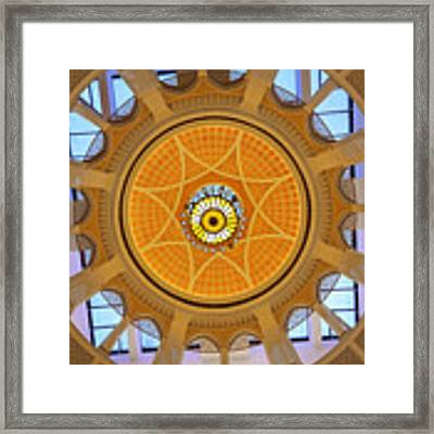 Dubai Mall Dome  Framed Print by Juergen Held
