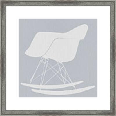 Eames Rocking Chair Framed Print