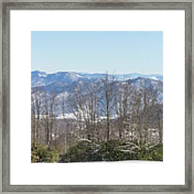Easterly Winter View Framed Print by D K Wall
