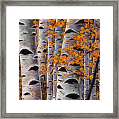 Effulgent October Framed Print