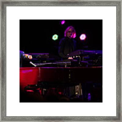 Elton - Enjoying The Show Framed Print by Chris Cousins