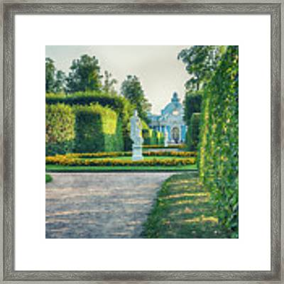 Evening In Classic Park Framed Print by Ariadna De Raadt