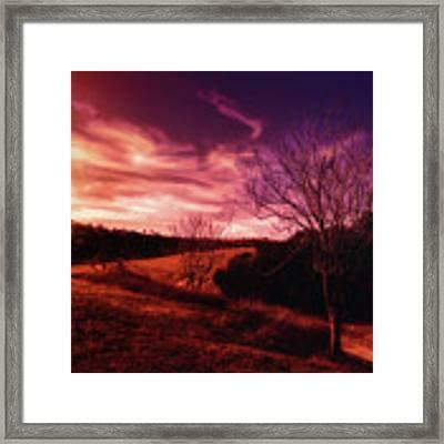 Fall Equinox Framed Print by Douglas MooreZart