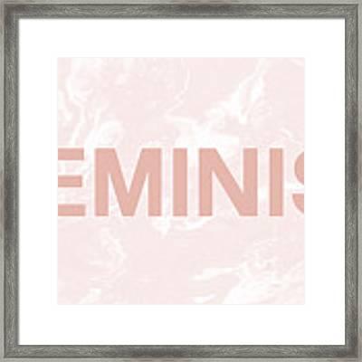 Feminist- Art By Linda Woods Framed Print by Linda Woods