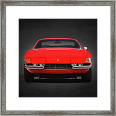 Ferrari 365gtb Framed Print by Mark Rogan