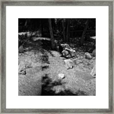 Figurative Holga Tryptich 4 Framed Print by Catherine Sobredo