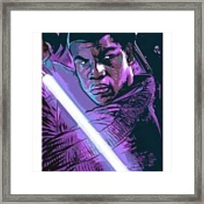 Finn Framed Print by Antonio Romero