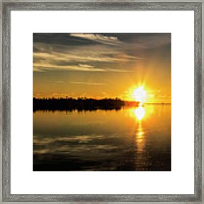 First Key West Sunrise 2018 E Framed Print by Bob Slitzan