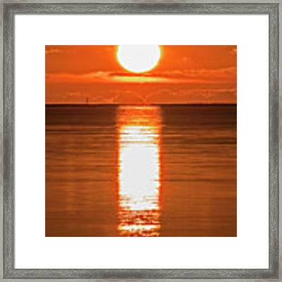 First Key West Sunrise 2018 F Framed Print by Bob Slitzan