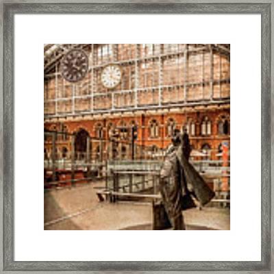 London, England - Flying Time Framed Print by Mark Forte