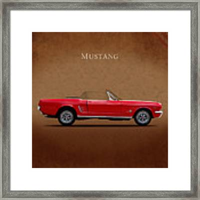 Ford Mustang 289 Framed Print