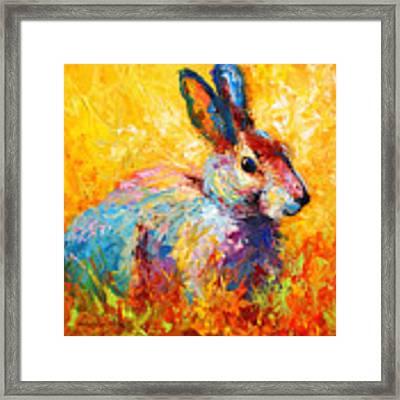 Forest Bunny Framed Print
