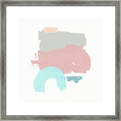 Fresh Abstract 2- Art By Linda Woods Framed Print by Linda Woods