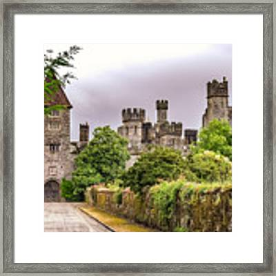 Gardens At Lismore Castle Framed Print by Claudia Abbott