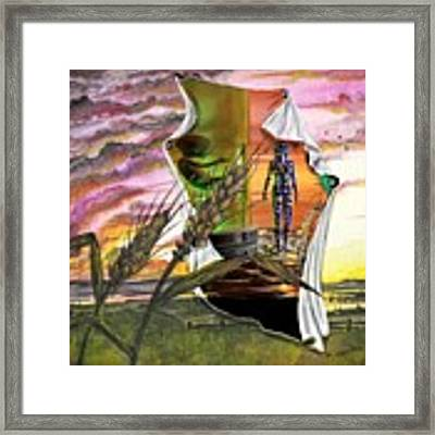 Genetically Modified Framed Print by Darren Cannell