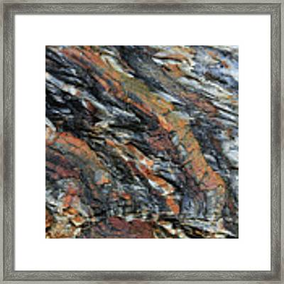 Geologica II Framed Print by Julian Perry