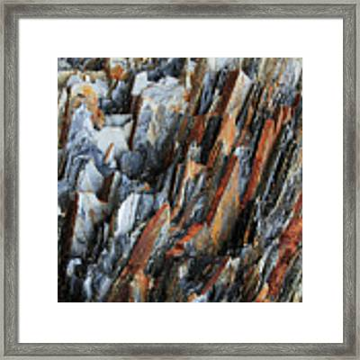 Geologica IIi Framed Print by Julian Perry