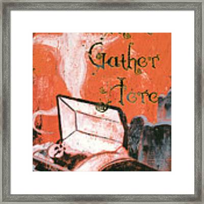 Ghosts Gather Here Framed Print
