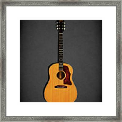 Gibson J-50 1967 Framed Print by Mark Rogan