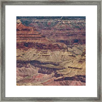 Grand Canyon Orphan Mine Framed Print by Susan Rissi Tregoning